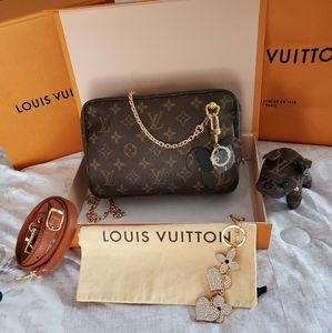 💋Louis Vuitton Monogram Trousse 23💋